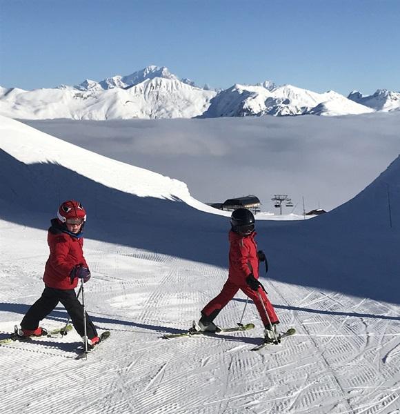 Children's Ski Lessons in Courchevel and La Tania
